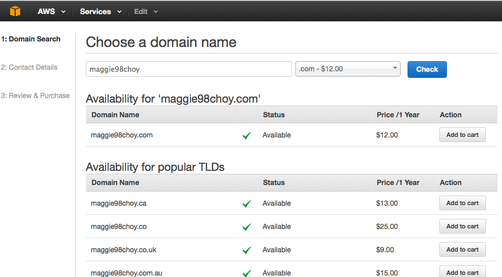 Redirect GitHub Page to Custom Domain Name Registered With
